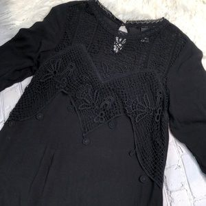 H&M•black dress
